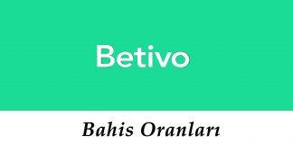Betivo Bahis Oranları